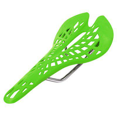 1PC Bike Saddle Light Plastic Spider Web Bicycle Seat Mat Breathable Cushion Pad Cycling Accessories