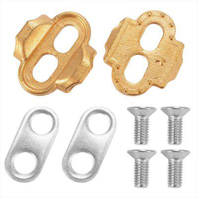 1 Set Bicycle Lock Pedal Plate Adapter MTB Bike Converter Cleats Cycling Parts Accessories