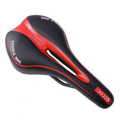 Shock Absorbing Hollow Bicycle Saddle Seat Soft Comfortable Breathable MTB Road Bike Cushion Cycling Accessories