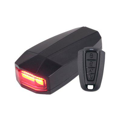 Smart Bicycle Rear Light Wireless Remote Control Anti-theft Alarm Horn Bike Taillight USB Rechargeable Cycling Tail Lamp