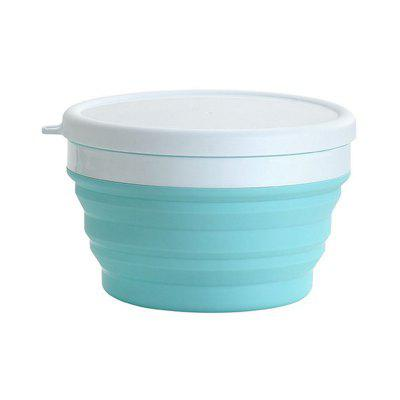 1PC Silicone Folding Cup Bowl Portable Reusable Coffee Mug Creative Travel Collapsible Drinking Water Bottle BPA-Free