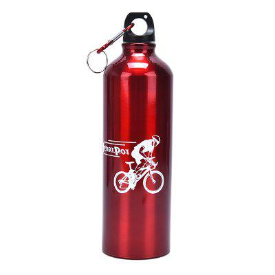 1PC 500ml Aluminum Alloy Bicycle Bottles Cycling Camping Bike Kettle Water Pot Accessories