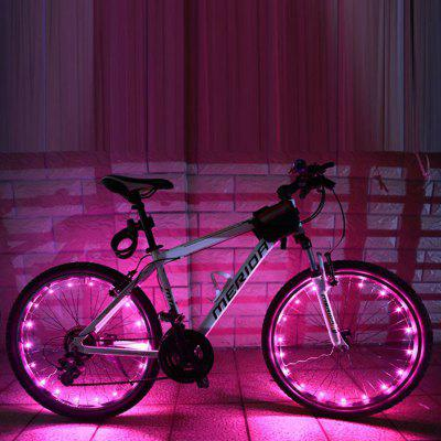 Bike Light 20LED Bicycle Wheels Spoke Flash Light Lamp Outdoor Cycling Accessories