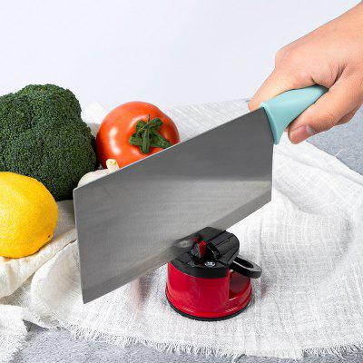 Kitchen Knife Sharpener Easy and Safe Suction Cup Grinder Stone Tools