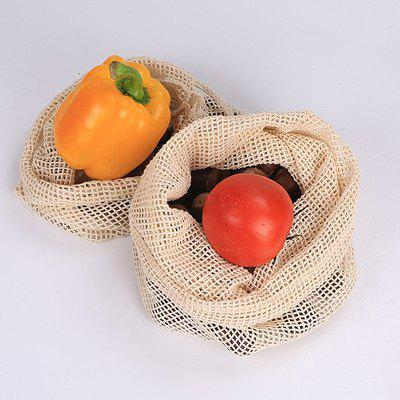 Durable Mesh Shopping Bag Large Capacity Foldable Fruits Vegetables Storage Handbag Net Woven Toys Grocery Organizer