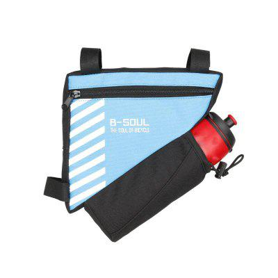 Bike Triangle Bag Waterproof Front Frame Bicycle Top Tube Water Bottle Storage Cycling Accessories