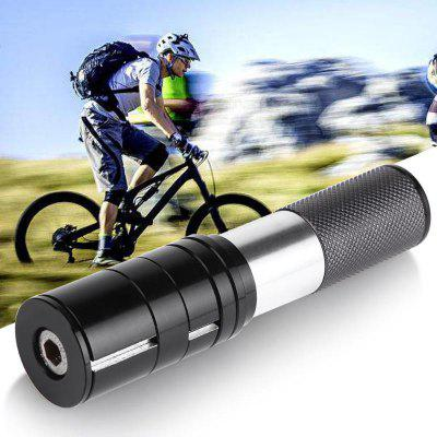 Bicycle Fork Stem Extender Head Up Adapter Handlebar Riser MTB Road Bike Extensions Part for 24.6-25.4mm Front Tube
