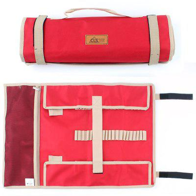 Outdoor Camping Portable Tent Nail Bag Kit Storage Sack Hammer Pouch Organizer