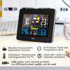 FanJu FJ3365B Wireless Weather Station Color Forecast with Temperature Humidity Barometer Moon Phase