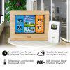 FanJu FJ3373W Wireless Weather Station Color Forecast with Temperature Humidity with Outdoor Sensor