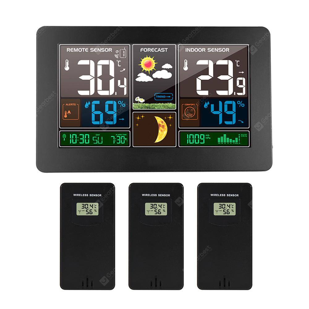 Universal Car Thermometers Weather Station Indoor Temperature With USB Cable New