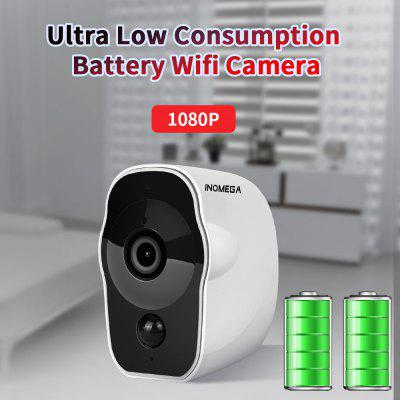 INQMEGA 1080P Wireless Battery Powered IP Camera Wifi Outdoor Indoor Rechargeable camera
