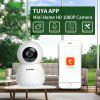 INQMEGA 1080P  IP CameraTwo-way Audio Night Vision Baby Monitor APP TUYA