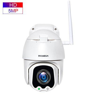 INQMEGA 5MP PTZ IP Camera Speed Dome WiFi Wireless 4X Digital ZOOMOutdoor Waterproof  CCTV Camera
