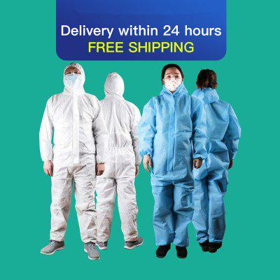 2020 Disposable Medical Cleaning Laboratory Isolation Gown Protective Isolation