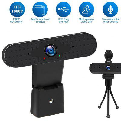 INQMEGA Full HD 1080P Webcam USB Computer Camera with Microphone Driver-free Video Online Live