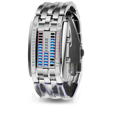 Creative Watches Led Fashion Wristwatches Lovers Couple Watch Digital Waterproof Clock For Men Women