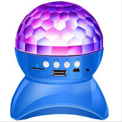Bluetooth Speaker Stage Light Controller RGB LED Magic Ball Crystal Light DJ Club Disco Party