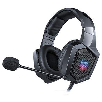 PS4 Headset Casque Wired PC Gamer Stereo Gaming Headphones with Microphone LED Lights