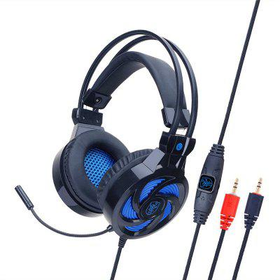 Surround Stereo Gaming Headset Headband Headphone USB 3.5mm With Mic for PC Game Headset