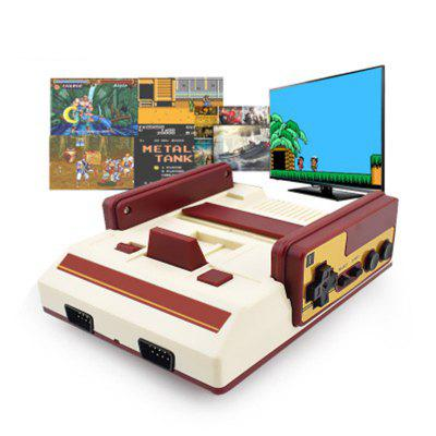Game Console Support AV Line Interface Dual Handle Video Game Built-in 500 Game Retro Games