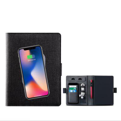Wireless Charging Notebook Personality Multifunctional Loop Business Notebook Enterprise Conference