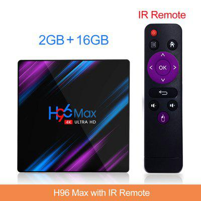 3318 Caixa de TV Android 9.0 Bluetooth 4.0 Rockchip 4 Núcleo Wifi 4k 3D Android Media Player