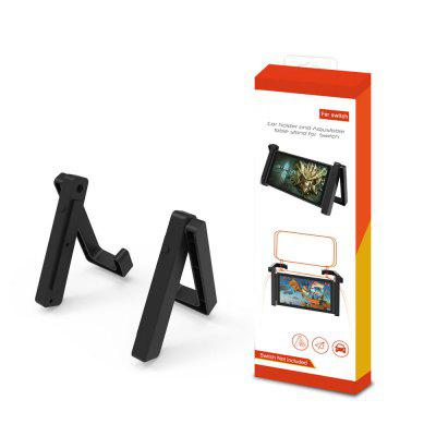 Game Storage for Nintendo Switch NS Console Holder Simple Bracket 2 In 1 Vehicle-mounted Bracket