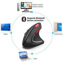 Professionele Gaming Mouse Wireless Bluetooth 3.0 Mouse Ergonomic Design Vertical Muse Muis