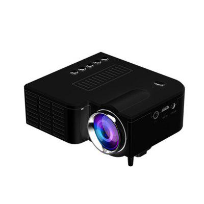 Portable Home Theater Wired LED Mini Projector HD 1080P VGA USB HDMI 110-240V