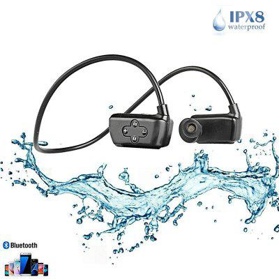 16G MP3 Bluetooth 5.0 MP3 Earphone Waterproof Professional Sport Headphone Phone Recording Headset
