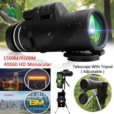 40x60 Powerful Binoculars High Quality Zoom Great Handheld Telescope Night Vision Military HD