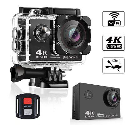 Action Camera 4K Ultra HD WIFI 16MP Sport Camera 1080P 30fps 170 Degree LCD Diving Waterproof