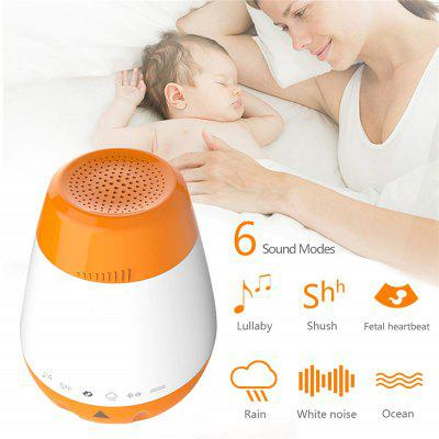 Portable Baby Sound Machine Music Machine Sleep Miracle with Soothing Song Natural Sound Portable