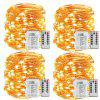 Fairy Lights Battery Operated 100LED String Lights Remote Control Timer Twinkle String Lights 8Modes
