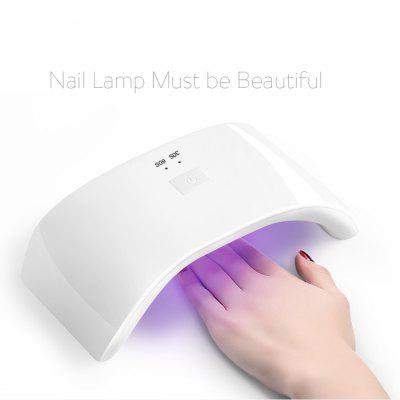 LED Nail Lamp Fingernail Toenail Gel Curing Nail Dryer Professional Nail Gel Machine for Nail Salon