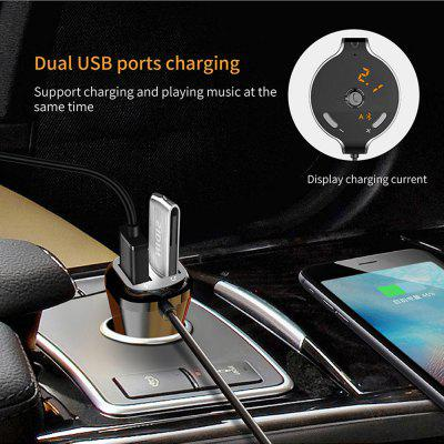 Mp3-Player Bluetooth Wireless Usb-Charger Fm-Transmitter Tf-Card Hands-Free Answer Support