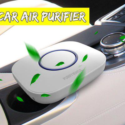 Car Air Purifier Purify Vehicle with Filter Formaldehyde Freshener Cigarette Smoke Smart Purifying