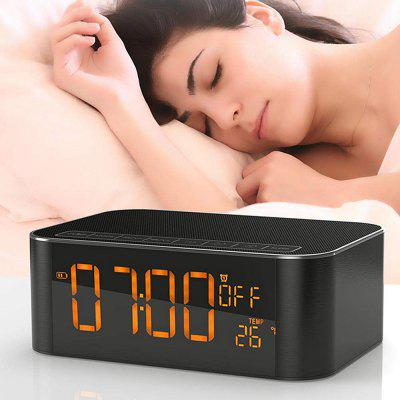 Bluetooth Speaker Dido Audio Bluetooth Speaker Subwoofer Alarm Clock Fm Radio Tf Card