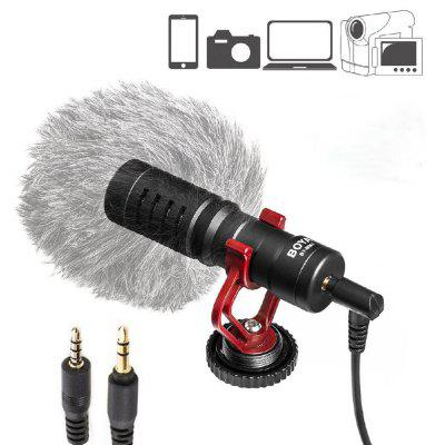 Video Handheld Microphone Livestream Recording for Iphone Smartphone for Canon Sony DSLR Camcorder