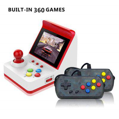 Portable Retro Mini Arcade Station Handheld Game Console Built-in 360 Video Games Classic FC Game