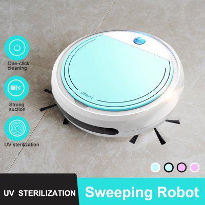 Smart Robot Vacuum Cleaner Simultaneously for Hard Floors Carpet Run Automatically Charge USB Charge