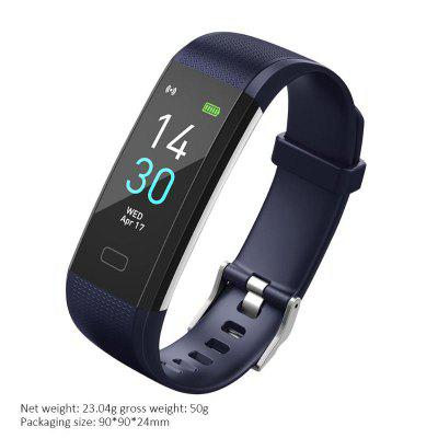 S5 Smart Bracelet Watch Fitness Tracker Touch Control Color Display Wristband Step Counting Distance