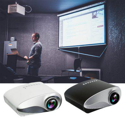 Home Led Mini Micro Projector Portable Projector with Hdmi Tv Interface Supports Hd 1080P Projector