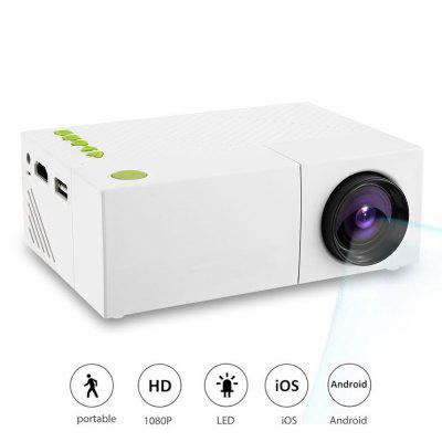 Mini Portable LCD Projector Home Theater Proyector USB SD AV HDMI 600 Lumens 1080P HD LED Portable