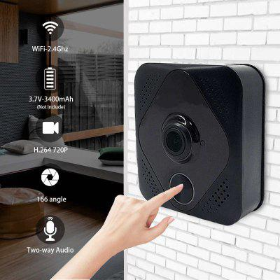 Smart Wifi Doorbell Home Security Twoway Talk Intercom Video Phone Door Bell Camera Day Night Vision