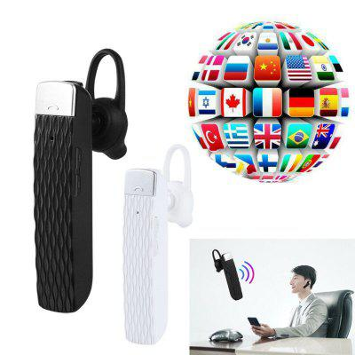 Smart Translator Wireless Bluetooth Headset Real-time Translation 33 Languages Interpreter Earbud