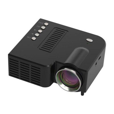 Projector USB Mini Projector Home Media Player Can Be Connected Directly to the Phone Projector