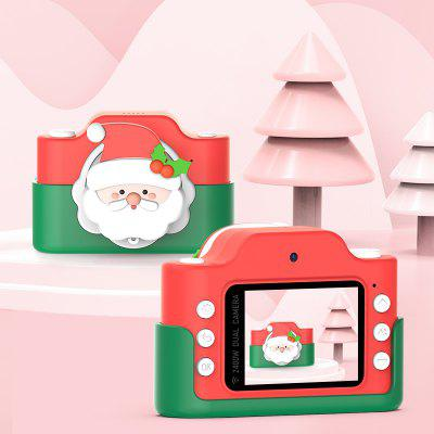 Christmas Children Camera 2 Inch HD Screen Chargable Digital Camera Kids Camera Photography Props