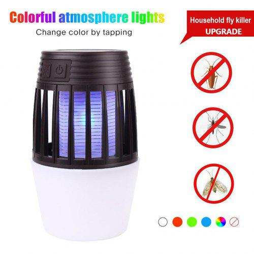 Colorful Mosquito Killer Lamp Colorful Lights Anti-mosquito Lamp USB Electric Mute LED Insect Zapper